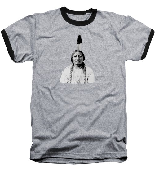 Sioux Chief Sitting Bull Baseball T-Shirt by War Is Hell Store