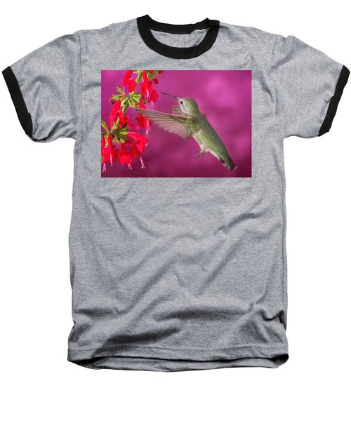 Sipping At The Salvia Baseball T-Shirt