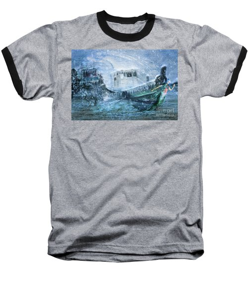 Siren Ship Baseball T-Shirt
