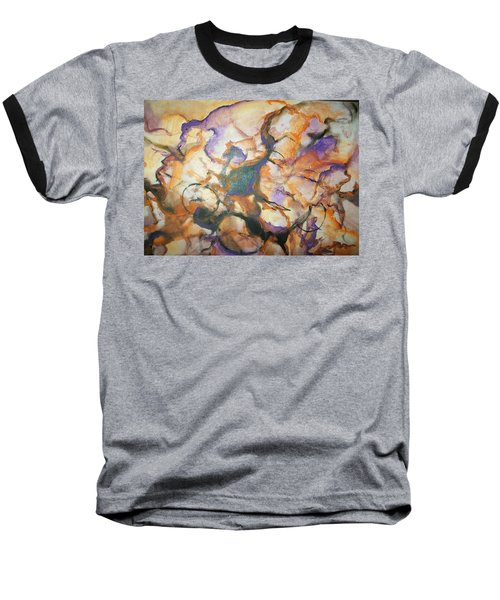 Baseball T-Shirt featuring the painting Sistaz by Raymond Doward