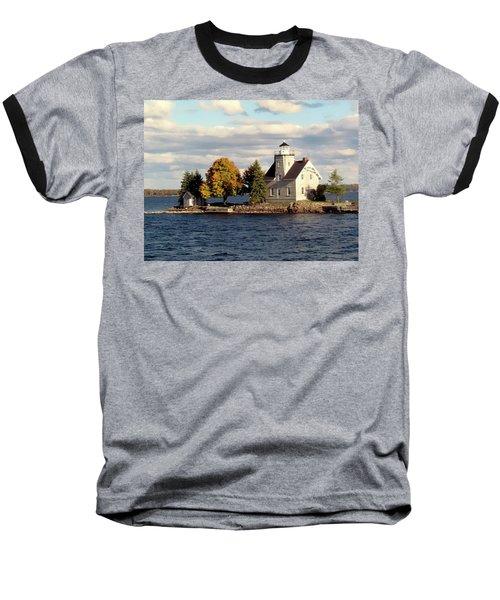 Sister Island Lighthouse Baseball T-Shirt