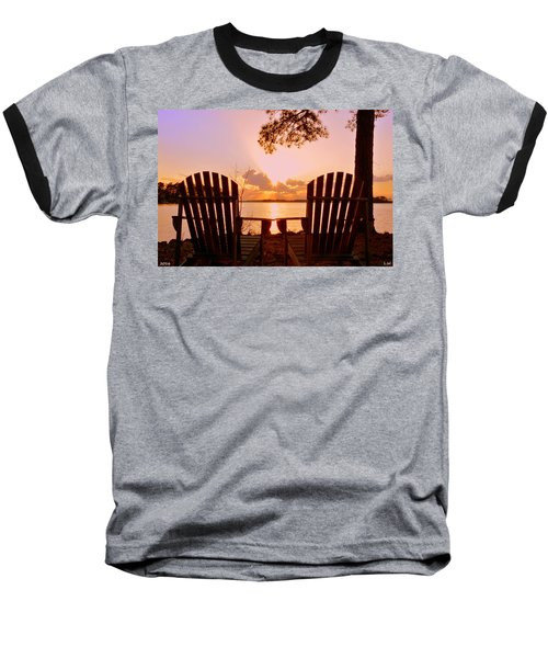 Sit Down And Relax Baseball T-Shirt