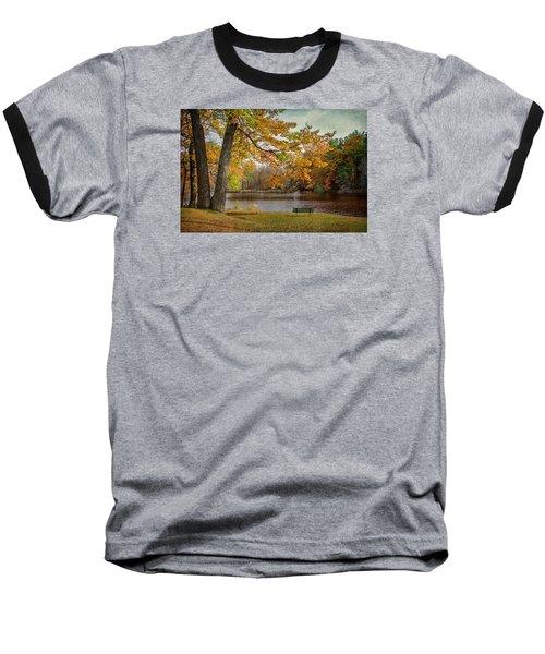 Sittin On The Banks Baseball T-Shirt