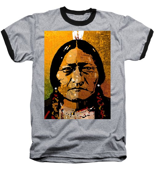 Sitting Bull Baseball T-Shirt