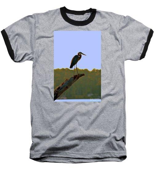 Sitting High On The Log Baseball T-Shirt
