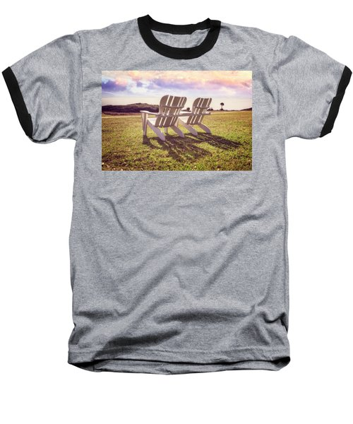 Baseball T-Shirt featuring the photograph Sitting In The Sun by Debra and Dave Vanderlaan