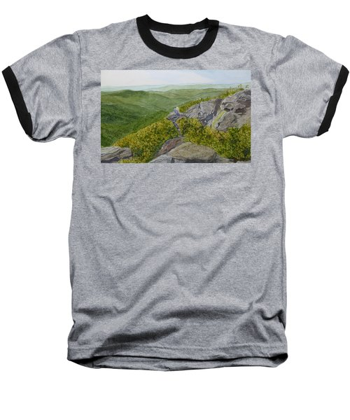 Baseball T-Shirt featuring the painting Sitting Pretty  by Joel Deutsch
