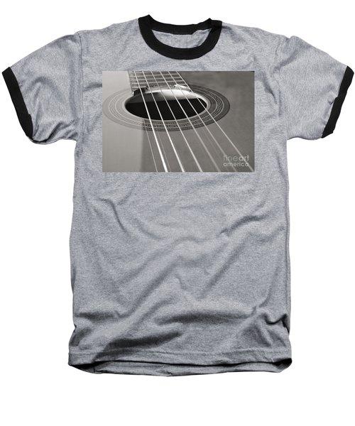 Six Guitar Strings Baseball T-Shirt by Angelo DeVal
