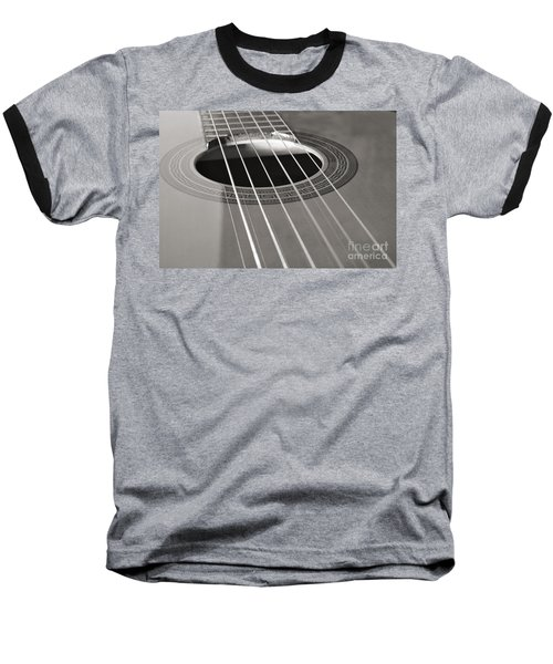 Six Guitar Strings Baseball T-Shirt