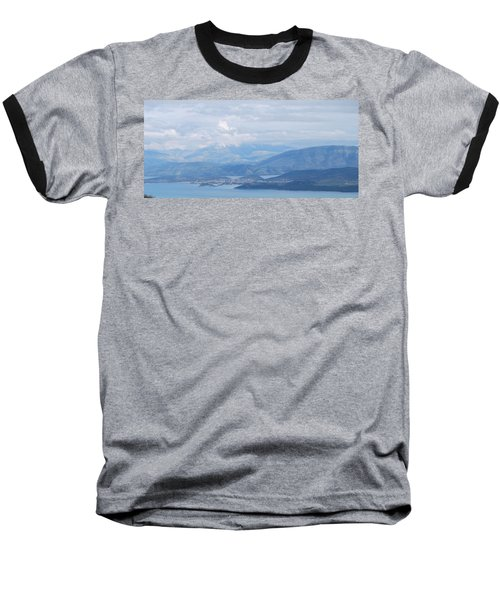 Six Islands  Baseball T-Shirt by George Katechis