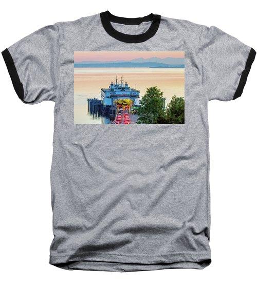 Six O'clock Ferry.2 Baseball T-Shirt by E Faithe Lester