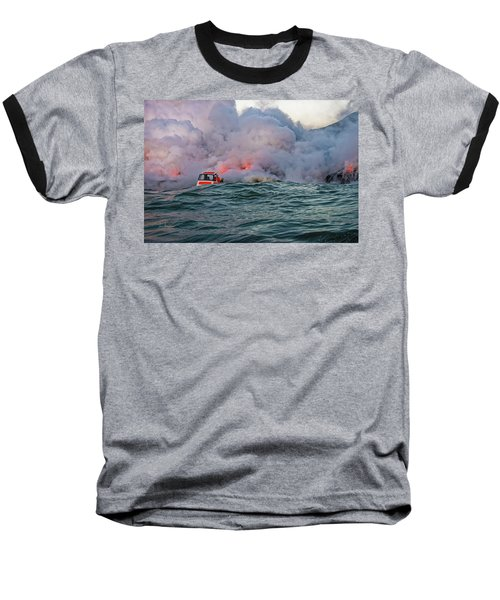 Baseball T-Shirt featuring the photograph Six Pac by Jim Thompson