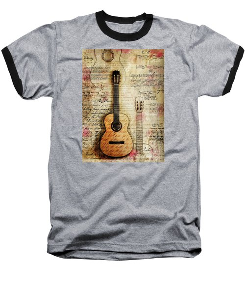 Six String Sages Baseball T-Shirt