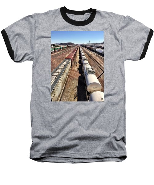 Six Trains Baseball T-Shirt