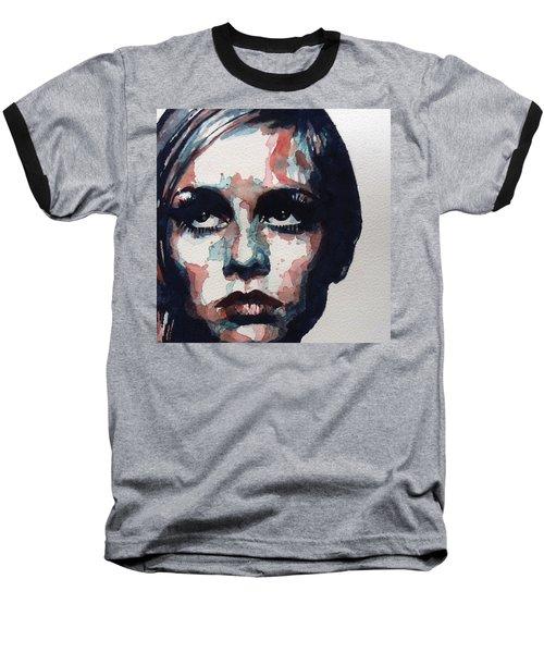 Sixties Sixties Sixties Twiggy Baseball T-Shirt