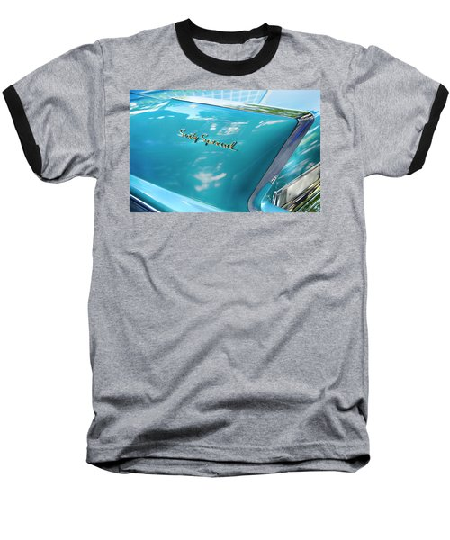 Baseball T-Shirt featuring the photograph Sixty Special Cadillac by Theresa Tahara