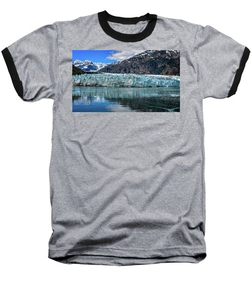 Size Perspective No Margerie Glacier Baseball T-Shirt