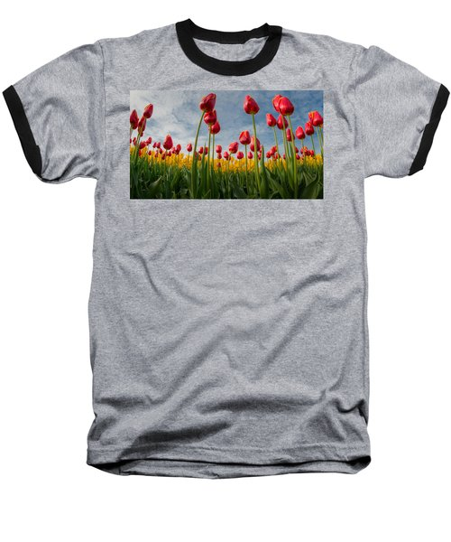 Baseball T-Shirt featuring the photograph Skagit Valley Spring Joy by Dan Mihai