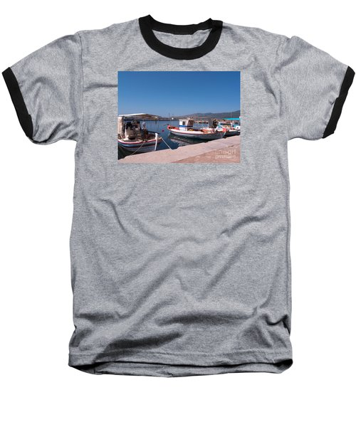 Skala Kalloni Lesvos Baseball T-Shirt