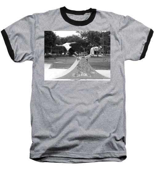 Skate Ballet Baseball T-Shirt by Beto Machado