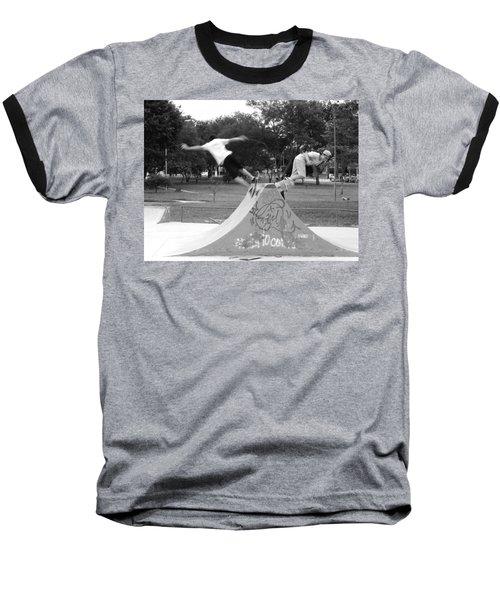 Skate Ballet Baseball T-Shirt