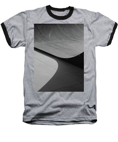 Baseball T-Shirt featuring the photograph Skateboard Ramp by Richard Rizzo