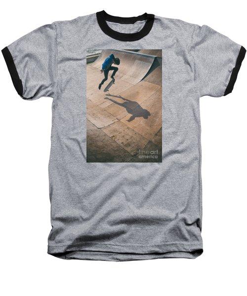 Skater Boy 001 Baseball T-Shirt