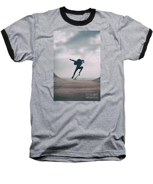 Skater Boy 004 Baseball T-Shirt