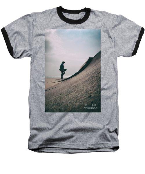 Skater Boy 006 Baseball T-Shirt