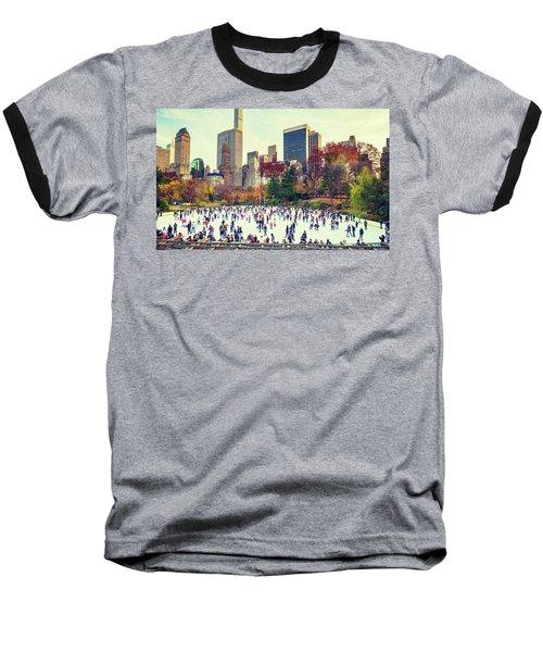 New York Central Park Baseball T-Shirt