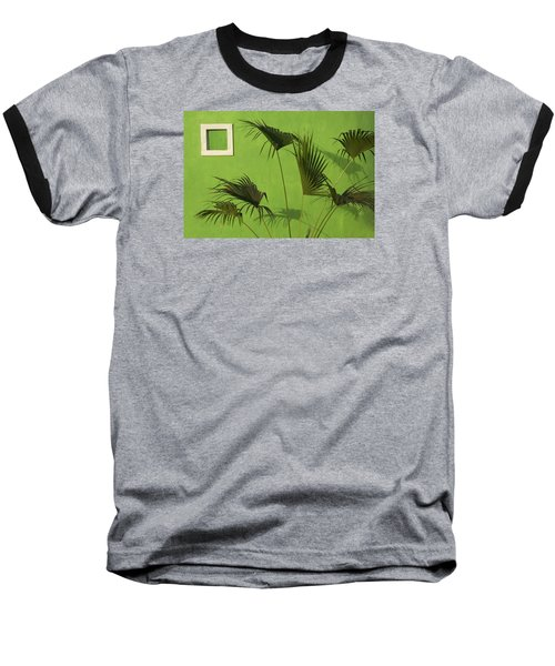 Skc 0683 Nature Outside Baseball T-Shirt