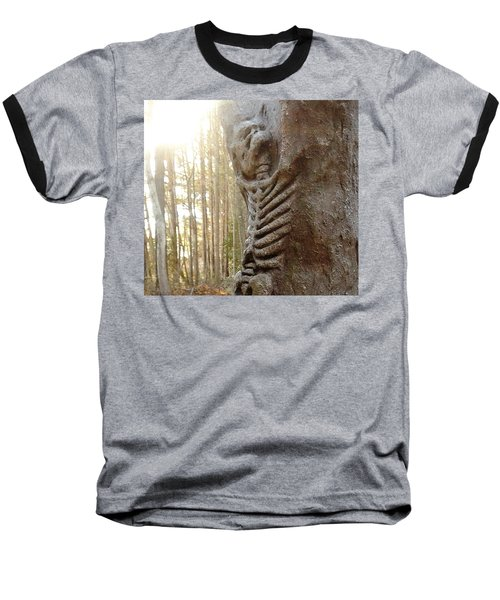 Skeleton Tree Baseball T-Shirt