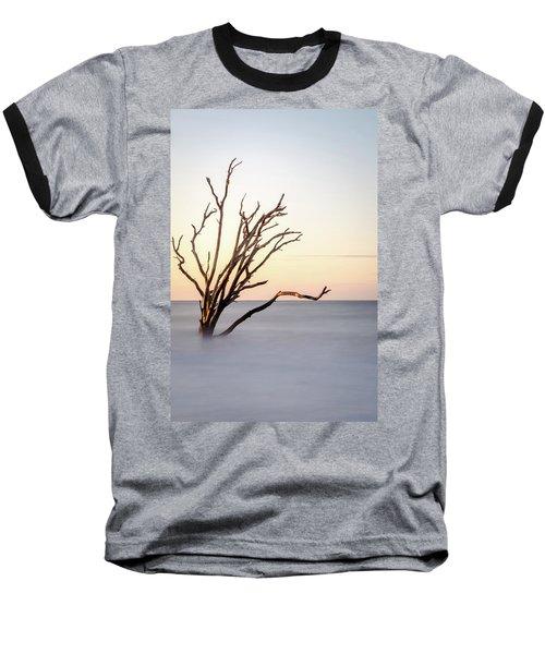Skeleton Tree In The Ocean Baseball T-Shirt