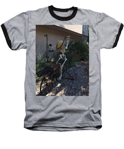 Skeleton's Bike Ride  Baseball T-Shirt