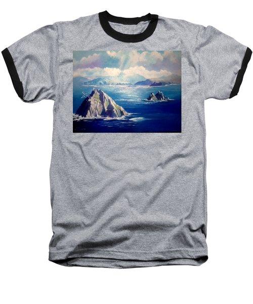 Skelligs Ireland Baseball T-Shirt