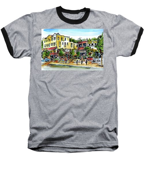 Sketch Crawl In Truckee Baseball T-Shirt