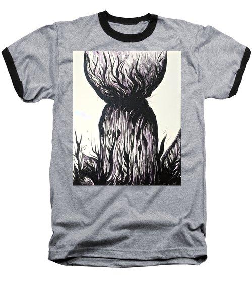 Sketchy Latte Stone Baseball T-Shirt