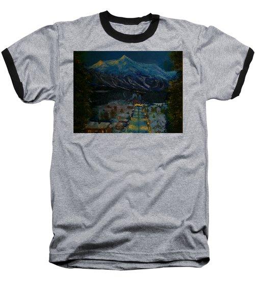 Ski Resort Baseball T-Shirt