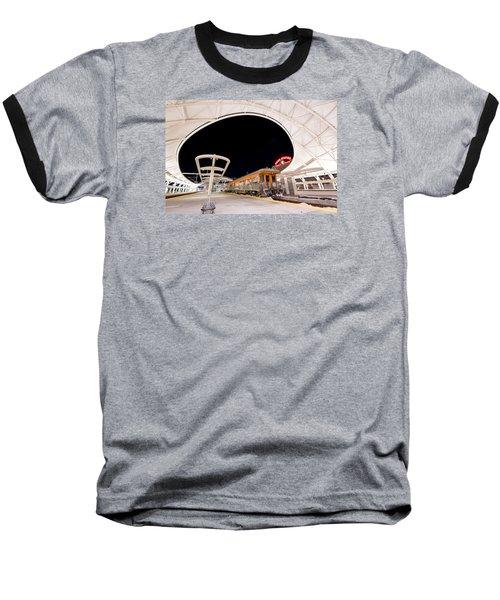 Ski Train Baseball T-Shirt