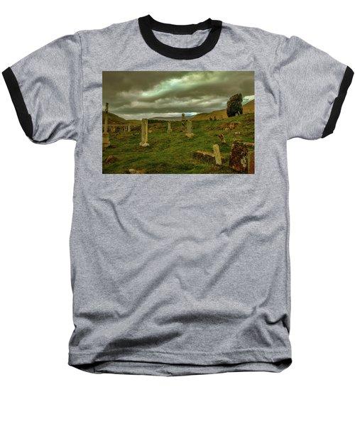 Skies And Headstones #g9 Baseball T-Shirt