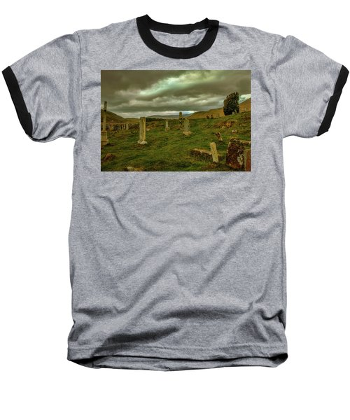 Skies And Headstones #g9 Baseball T-Shirt