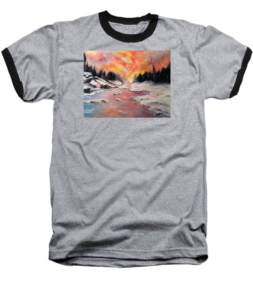 Skies Of Mercy Baseball T-Shirt