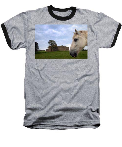 Skipness Castle Baseball T-Shirt