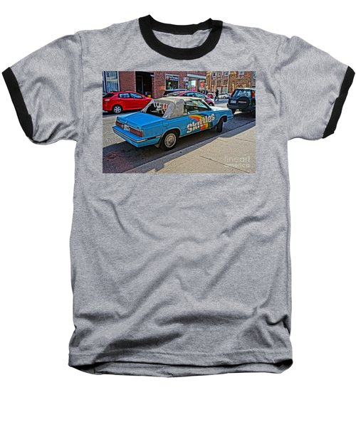 Skittles Car Baseball T-Shirt