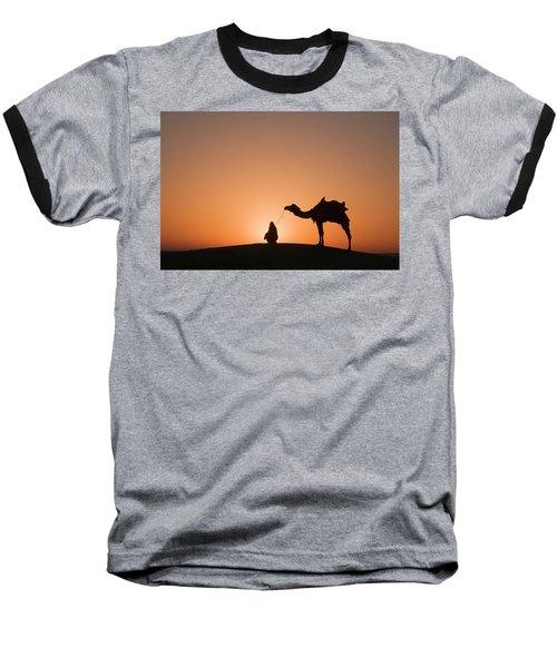 Skn 0893 The Halo Of Sunrise Baseball T-Shirt