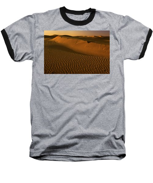 Skn 1127 The Golden Dunes Baseball T-Shirt