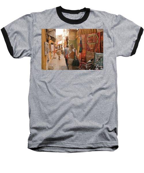 Skn 1226 Squeezed Lane Baseball T-Shirt
