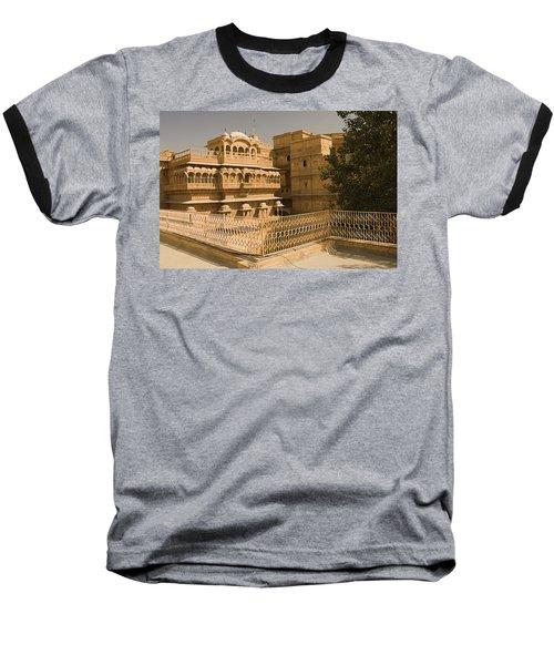 Skn 1231 Kingly Jharokhas Baseball T-Shirt