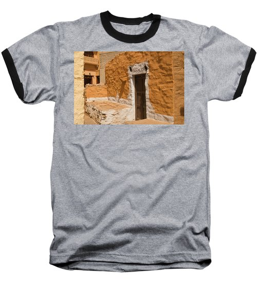 Skn 1264 Thatched House Baseball T-Shirt