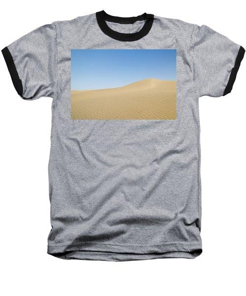 Skn 1412 The Ripples On The Slope Baseball T-Shirt by Sunil Kapadia